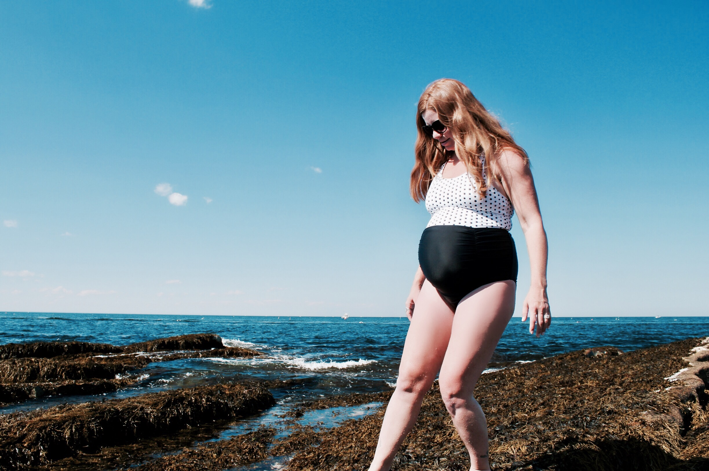 f140dacb31433 I also found that H&M's MAMA line has appealing swimwear but in my  experience the sizing has been a bit tricky. The suit I'd purchased at the  beginning of ...